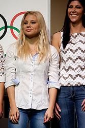 Carmen Kralj during event Miss Sports of Slovenia 2012, on April 21, 2012, in Festivalna dvorana, Ljubljana, Slovenia. (Photo by Urban Urbanc / Sportida.com)