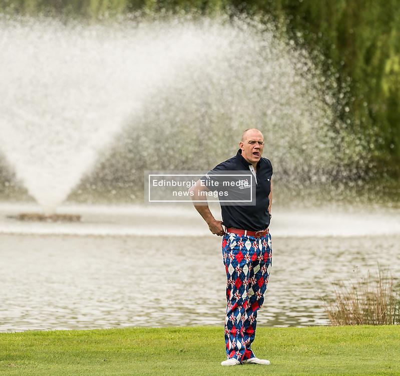 Mike Tindall at The ISPS HANDA Mike Tindall Celebrity Golf Classic<br /> <br /> (c) John Baguley   Edinburgh Elite media