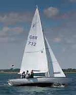 Nordic Folkboat - Sonja F732