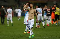 30.04.2017 - Milano - Serie A 2016/17 - 34a giornata  -  Inter-Napoli  nella  foto: Jose Maria Callejon esulta sotto i tifosi del Napoli a fine partita