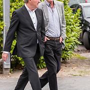 NLD/Bilthoven/20170706 - Uitvaart Ton de Leeuwe, ex partner Anita Meyer, Frank Wentink en Edward Niessing