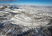 An aerial view of an area near Canyons Resort, Wednesday, Dec. 19, 2012