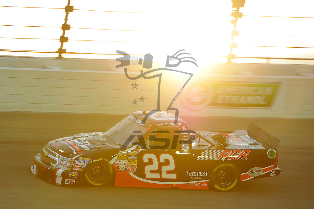 Joliet,Il - JUL 21, 2012:  during practice for the STP 300 at Chicagoland Speedway in Joliet, Il.
