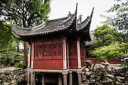 Acting and Singing Stage in Yu Yuan Gardens Shanghai, China