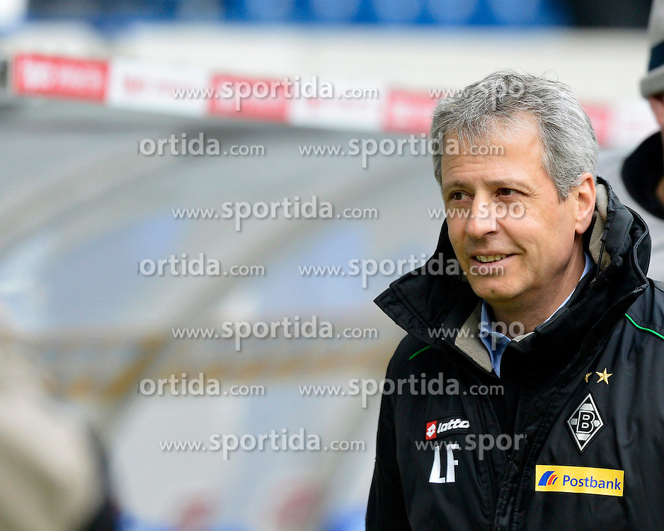 19.01.2013, Rhein Neckar Arena, Sinsheim, GER, 1. FBL, TSG 1899 Hoffenheim vs Borussia Moenchengladbach, 18. Runde, im Bild Trainer Lucien FAVRE Borussia Mönchengladbach Portrait Porträt // during the German Bundesliga 18th round match between TSG 1899 Hoffenheim and Borussia Moenchengladbach at the Rhein Neckar Arena, Sinsheim, Germany on 2013/01/19. EXPA Pictures © 2013, PhotoCredit: EXPA/ Eibner/ Weber..***** ATTENTION - OUT OF GER *****