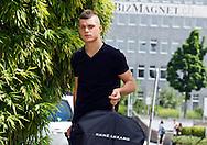 Switzerland's U21 soccer player Granit XHAKA arrives at the Renaissance hotel in Zurich, Switzerland, Tuesday, June 7, 2011. The Swiss team attends the UEFA Under-21 (U21) Championship tournament in Denmark. (Photo by Patrick B. Kraemer / MAGICPBK)