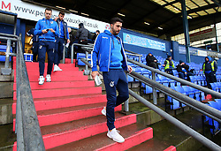Liam Sercombe, Ollie Clarke and Tom Broadbent of Bristol Rovers arrive at The Sportsdirect.com Park for the fixture against Oldham Athletic - Mandatory by-line: Robbie Stephenson/JMP - 30/12/2017 - FOOTBALL - Sportsdirect.com Park - Oldham, England - Oldham Athletic v Bristol Rovers - Sky Bet League One