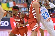 DESCRIZIONE : Berlino Berlin Eurobasket 2015 Group B Turkey Italy <br /> GIOCATORE : Bobby Dixon<br /> CATEGORIA : Palleggio blocco<br /> SQUADRA :  Turkey<br /> EVENTO : Eurobasket 2015 Group B <br /> GARA : Turkey Italy<br /> DATA : 05/09/2015 <br /> SPORT : Pallacanestro <br /> AUTORE : Agenzia Ciamillo-Castoria/Mancini Ivan<br /> Galleria : Eurobasket 2015 <br /> Fotonotizia : Berlino Berlin Eurobasket 2015 Group B Turkey Italy