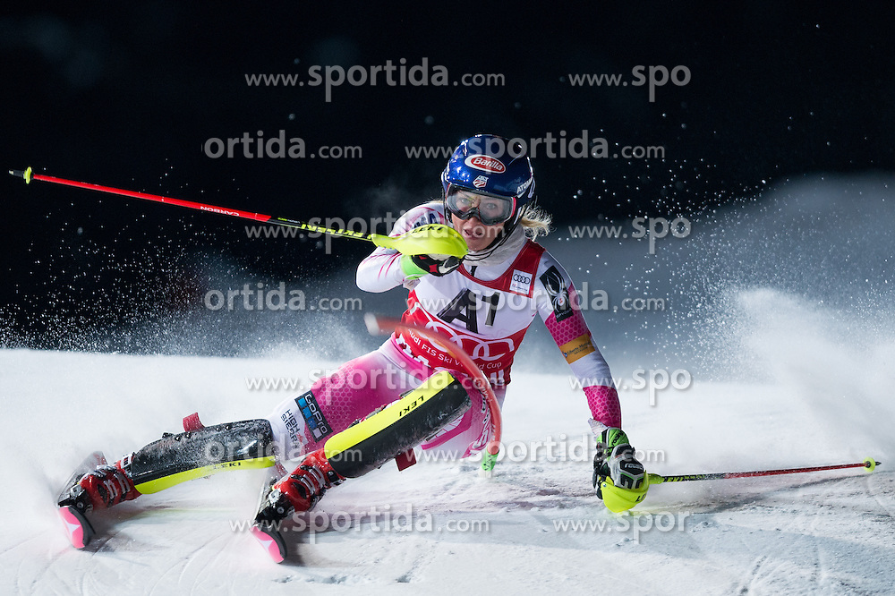 Mikaela Shiffrin (USA)during the 7th Ladies' Slalom of Audi FIS Ski World Cup 2016/17, on January 10, 2017 at the Hermann Maier Weltcupstrecke in Flachau, Austria. Photo by Martin Metelko / Sportida