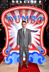 Colin Farrell attending the European premiere of Dumbo held at Curzon Mayfair, London.