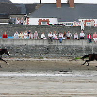 Action from the the strand racing in Kilkee on Sunday.<br />
