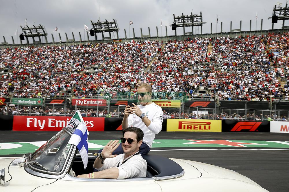 October 28, 2018 - Mexico-City, Mexico - Motorsports: FIA Formula One World Championship 2018, Grand Prix of Mexico, ..#77 Valtteri Bottas (FIN, Mercedes AMG Petronas Motorsport) (Credit Image: © Hoch Zwei via ZUMA Wire)