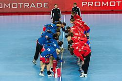 Handball match between RK Krim Mercator (SLO) and RK Podravka Vegeta (CRO) in Women's EHF Champions League, on November 13, 2010 in Arena Stozice, Ljubljana, Slovenia. (Photo By Vid Ponikvar / Sportida.com)