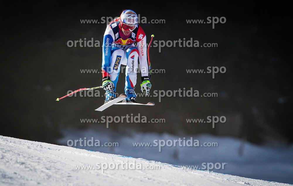 24.01.2013, Streif, Kitzbuehel, AUT, FIS Weltcup Ski Alpin, Abfahrt, Herren, 3. Training, im Bild Didier Defago (SUI) // Didier Defago of Switzerland in action during 3th practice of mens Downhill of the FIS Ski Alpine World Cup at the Streif course, Kitzbuehel, Austria on 2013/01/24. EXPA Pictures © 2013, PhotoCredit: .EXPA/ Juergen Feichter
