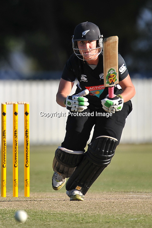 Kate Broadmore sets off for a quick single ~ Game 7 (ODI) of the Rose Bowl Trophy Cricket played between Australia and New Zealand at Alan Border Field in Brisbane (Australia) ~ Thursday 16th June 2011 ~ Photo : Steven Hight (AURA Images) / Photosport
