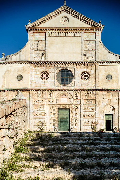 10 SEP 2015 - Spoleto (PG) - Basilica di San Pietro.
