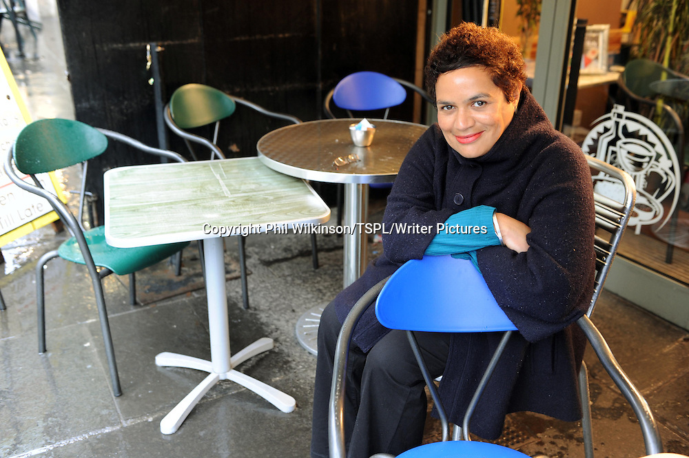 Jackie Kay, pictured while attending rehearsals iin Glasgow for the Maw Broon Monolgues.<br /> <br /> copyright Phil Wilkinson/TSPL/Writer Pictures<br /> contact +44 (0)20 822 41564<br /> info@writerpictures.com <br /> www.writerpictures.com