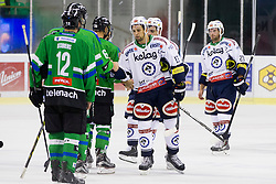 13.09.2015, Hala Tivoli, Ljubljana, SLO, EBEL, HDD Telemach Olimpija Ljubljana vs EC VSV, 2. Runde, in picture Ziga Pance (EC VSV, #13) adter the Erste Bank Icehockey League 2. Round between HDD Telemach Olimpija Ljubljana and EC VSV at the Hala Tivoli, Ljubljana, Slovenia on 2015/09/13. Photo by Urban Urbanc / Sportida