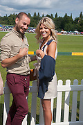 FRANK STRACHAN; MOLLIE KING, The Veuve Clicquot Gold Cup Final.<br /> Cowdray Park Polo Club, Midhurst, , West Sussex. 15 July 2012.