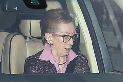 © Licensed to London News Pictures. 29/10/2019. London, UK. Margaret Beckett MP arriving at the Houses of Parliament in a car this afternoon. Photo credit : Tom Nicholson/LNP