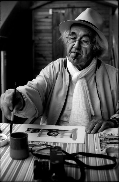 PORTRAITS / RETRATOS<br /> <br /> Rene Burri<br /> Fotografo Suizo<br /> Paris - Francia 2008<br /> <br /> (Copyright &copy; Aaron Sosa)