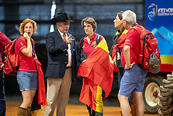 De Vos Ingmar, FEI President, Laeremans Wendy, Director Belgian Federation<br /> World Equestrian Games - Tryon 2018<br /> © Hippo Foto - Dirk Caremans<br /> 15/09/2018