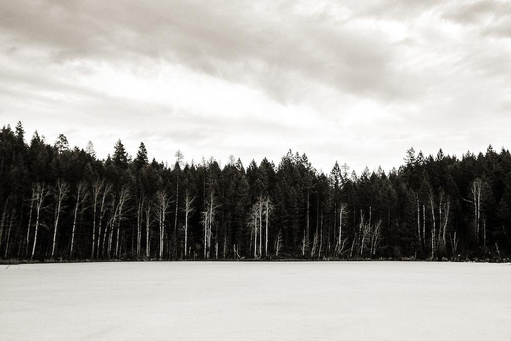 Frozen Estes Lake