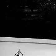Trump Ice Skate rink in Central Park