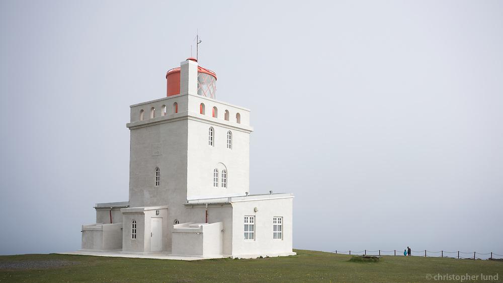 The Lighthouse at Dyrhólaey, South Iceland.