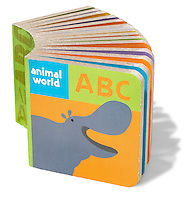 maukilo animal world abc block book