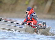 """London; GREAT BRITAIN; Cambridge University right Chief Coach Steve TRAPMORE,  Trial Eights for crew selection for 157th Boat Race [April 2011]  raced over the Championship Course Putney to Mortlake  on the River Thames. Wednesday  - 08/12/2010   [Mandatory Credit; """"Photo, Peter Spurrier/Intersport-images]"""