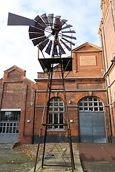 © Licensed to London News Pictures. 01/12/2013. London, UK. Image date: 23 November 2013. A general view of the exterior of the Wapping Project (formerly the Wapping Hydraulic Power Station). The Wapping Project restaurant and art space will close at the end of 2013. Photo credit : Vickie Flores/LNP