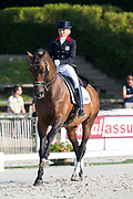Amy Woodhead - Pardon<br /> FEI European Dressage Championships for Young Riders and Juniors 2013<br /> © DigiShots