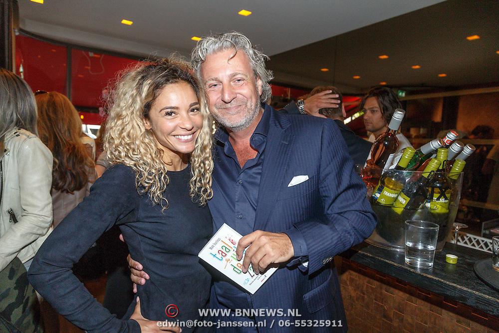 NLD/Amsterdam/20150604 - Boekpresentatie advocaat Mark Teurlings, met Fajah Lourens