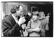 Pierre Gugliel mina, Ruth Rendall, at her party at Hessicherhof hotel, 1991© Copyright Photograph by Dafydd Jones 66 Stockwell Park Rd. London SW9 0DA Tel 020 7733 0108 www.dafjones.com