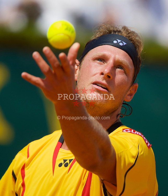 MONTE-CARLO, MONACO - Friday, April 25, 2008: David Nalbandian (ARG) during the fourth round of the Masters Series Monte-Carlo at the Monte-Carlo Country Club. (Photo by David Rawcliffe/Propaganda)
