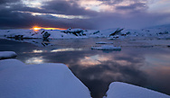 A piece of heaven on earth at Glacier Lagoon, Iceland.