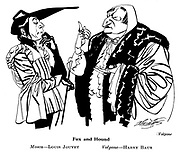 Volpone ; Louis Jouvet and Harry Baur