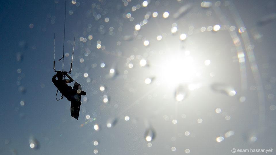 Kite Surfer, Oman