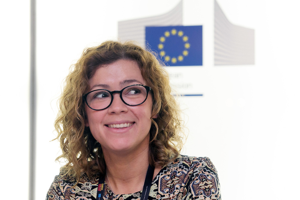 03 June 2015 - Belgium - Brussels - European Development Days - EDD - Health - Shared responsibility for the right to health in the post-2015 agenda - Ana Lorena Ruano , Researcher , CEGSS , University of Bergen © European Union