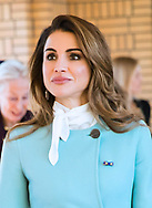 20.03.2018; The Hague, Netherlands: QUEEN RANIA <br /> during the official visit to the Netherlands.<br /> King Abdullah II and Queen Rania Al Abdullah of Jordan are on an official visit to the Netherlands<br /> Mandatory Photo Credit: NEWSPIX INTERNATIONAL<br /> <br /> IMMEDIATE CONFIRMATION OF USAGE REQUIRED:<br /> Newspix International, 31 Chinnery Hill, Bishop's Stortford, ENGLAND CM23 3PS<br /> Tel:+441279 324672  ; Fax: +441279656877<br /> Mobile:  0777568 1153<br /> e-mail: info@newspixinternational.co.uk<br /> &ldquo;All Fees Payable To Newspix International&rdquo;