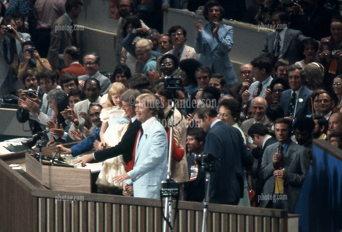 Nomination of Jimmy Carter as Presidential Candidate at the Democratic National Convention July 15, 1976