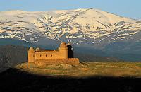 Espagne. Andalousie. Chateau de Lacahorra // Spain. Andalousia. Lacahorra castle.