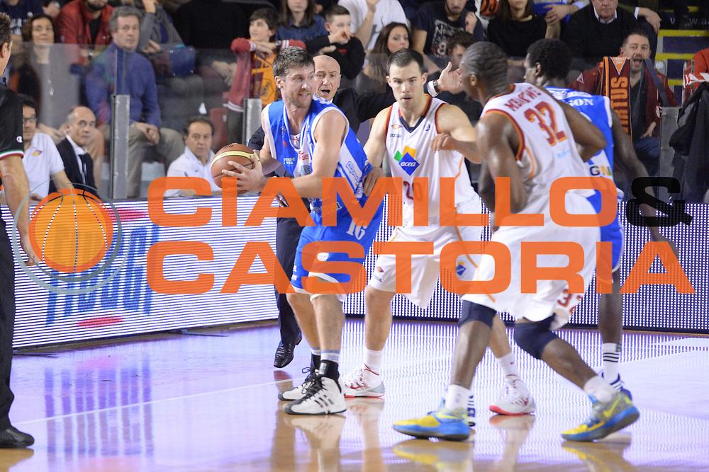 DESCRIZIONE : Campionato 2013/14 Acea Virtus Roma - Dinamo Banco di Sardegna Sassari<br /> GIOCATORE : Drake Diener<br /> CATEGORIA : Palleggio<br /> SQUADRA : Dinamo Banco di Sardegna Sassari<br /> EVENTO : LegaBasket Serie A Beko 2013/2014<br /> GARA : Acea Virtus Roma - Dinamo Banco di Sardegna Sassari<br /> DATA : 26/12/2013<br /> SPORT : Pallacanestro <br /> AUTORE : Agenzia Ciamillo-Castoria / GiulioCiamillo<br /> Galleria : LegaBasket Serie A Beko 2013/2014<br /> Fotonotizia : Campionato 2013/14 Acea Virtus Roma - Dinamo Banco di Sardegna Sassari<br /> Predefinita :