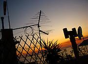 Sunset in Corniglia, Cinque Terre, Italy