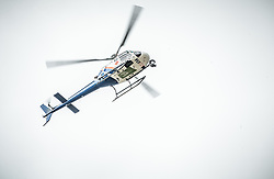 Helicopter during 1st Stage of 25th Tour de Slovenie 2018 cycling race between Lendava and Murska Sobota (159 km), on June 13, 2018 in  Slovenia. Photo by Vid Ponikvar / Sportida
