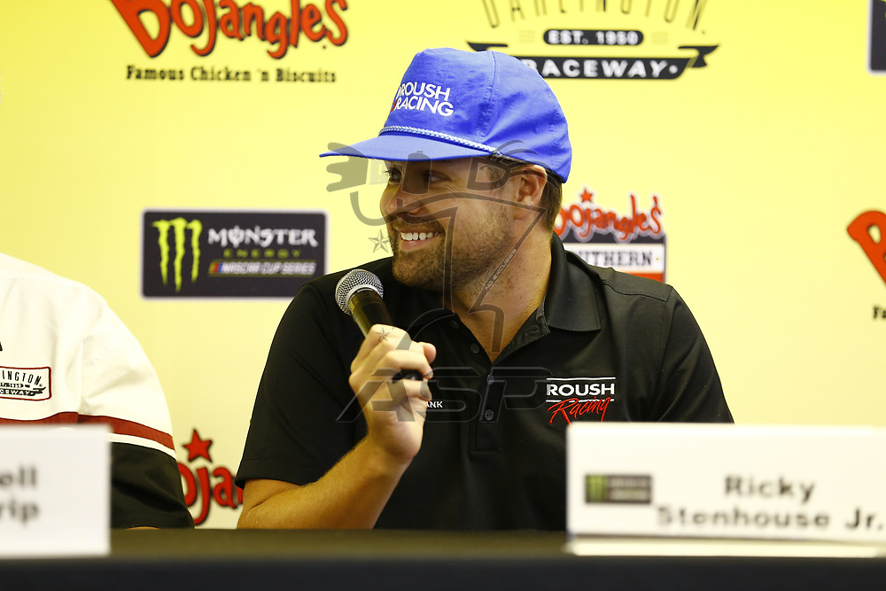 September 03, 2017 - Darlington, South Carolina, USA: Roush Fenway Racing tolds a press conference before the Bojangles' Southern 500 at Darlington Raceway in Darlington, South Carolina.
