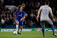 Ethan Ampadu of Chelsea in action. <br /> EFL Carabao Cup 4th round match, Chelsea v Everton at Stamford Bridge in London on Wednesday 25th October 2017.<br /> pic by Kieran Clarke, Andrew Orchard sports photography.