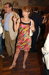 KATHY LETTE  at a party to celebrate the publication of Wicked - A Tale of Two Schools by Jilly Cooper held at Westminster School, Dean's Yard, London on 11th May 2006.<br />