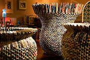 Belo Horizonte_MG, Brasil...Detalhe do artesanato da ASMARE que fica no Reciclo II...Detail of ASMARE craft in Reciclo II...FOTOS: BRUNO MAGALHAES /  NITRO